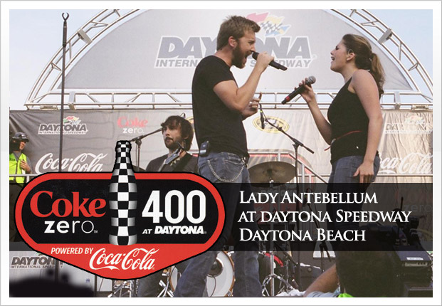 One hour fan concert with Lady Antebellum as headliners. 185,000 fans in attendance