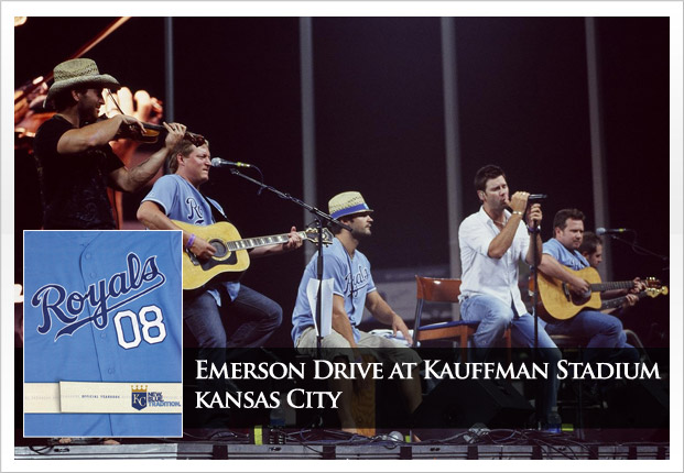 KC Royals Post Game Concert featuring Emerson Drive