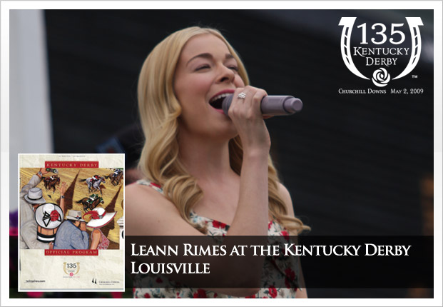135th Kentucky Derby - Music Day with multi-platinum selling artist and multiple Grammy Award winner LeAnn Rimes
