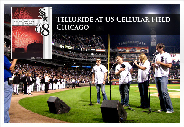 TelluRide Pre-game acoustic show and National Anthem