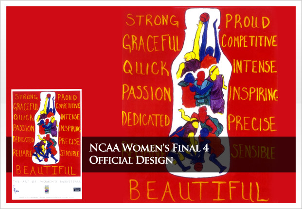 Women's NCAA Final Four - Official Design