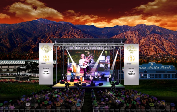 Breeders Cup World Championships Santa Anita The Grammys Stage:Patrons Concert